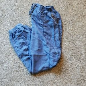 BEBE STRETCHY JEAN JOGGERS